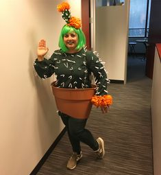 Inspiration & Accessories: DIY Cactus Halloween Costume Idea