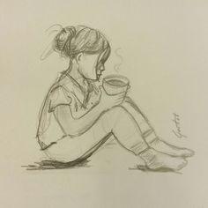 Koffie meisje | by Gretel