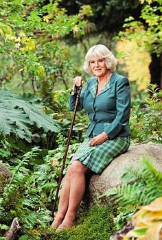 Duchess of Cornwall--the best picture I've ever seen of her.
