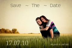 more save the date - picture ideas?