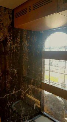 Nero Potoro Marble Yachy wall feature
