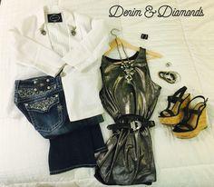 Denim & Diamonds outfit idea for #Plexus #DreamOn2016 Convention...a private concert with Little Big Town!!