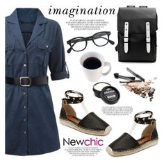 """Newchic/Lovenewchic"" by helenevlacho ❤ liked on Polyvore featuring Kate Spade, J.Crew and newchic"