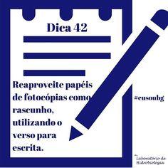 #eusoubg #baiadeguanabara #guanabara #guanabarabay #riodejaneiro #errejota #analisedeagua #labhidroufrj #ufrj #papel #reciclagem #reaproveitamento