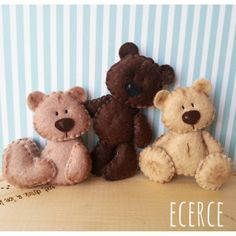"265 Likes, 8 Comments - @ecerce on Instagram: ""Pek yakında! @ecerce'de #keçe #felt #fieltro #feltro #craft #feltcraft #baby #hediye #babyshower…"""