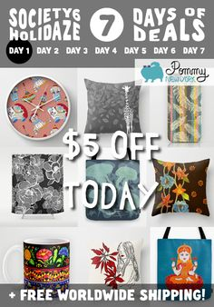 US$5.00 OFF TODAY on Pommy New York products at Society6 + FREE SHIPPING WORLDWIDE! Click on the promo link: http://society6.com/pommy/cases?promo=4B3PHCJXPPRJ