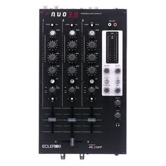 Ecler NUO 3.0 Three-Channel Professional DJ Mixer