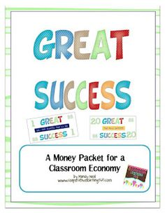 Classroom Freebies: Great Success