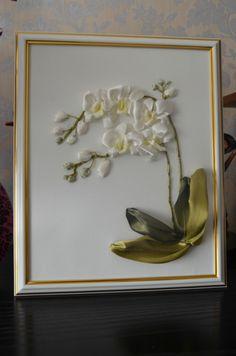 """Gallery.ru / """"Задумчивая орхидея"""" - Мои первые работы - Nata-25"""