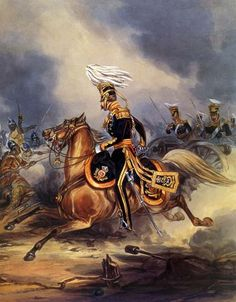 the Battle of Sobraon -3rd King's Own Light Dragoons in their devastating charge across the rear of the Sikh line www.sobraon.com