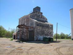 Farmers' Co-op Elevator - Buffalo, Oklahoma - Grain Elevators