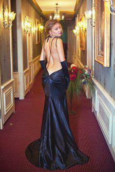 Beautiful mature ass in elegant dress
