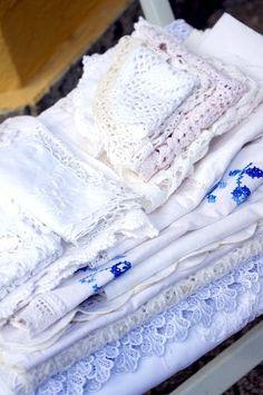 Italian vintage linens