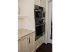 Oven enclosure custom cabinets