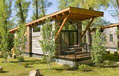 architecture modern cabin