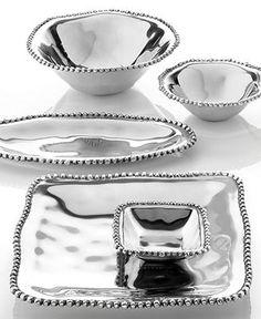 Lenox Serveware, Organics Bead Collection - Serveware - Dining & Entertaining - Macy's