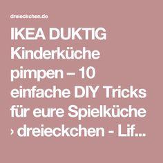 IKEA DUKTIG Kinderküche pimpen – 10 einfache DIY Tricks für eure Spielküche › dreieckchen - Lifestyle Blog #dreimalanders