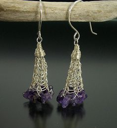 Viking Knit Dangle Earrings