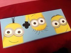 One-Off-Minion-Painting-Despicable-Me-Wall-Art-Handpainted-Canvas