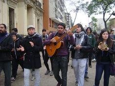 Manifestantes en marcha CONFECH 11/abril/2013