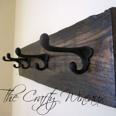 Just sold! Get your #Authentic #HorseCountry #Barnwood #Coathanger today! Also on thecraftywineaux.com!