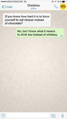 Twelve examples ofpure SMS chat genius