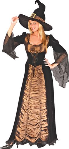 Haunters Depot: Witch Costumes and Dresses - Assorted Halloween Costumes