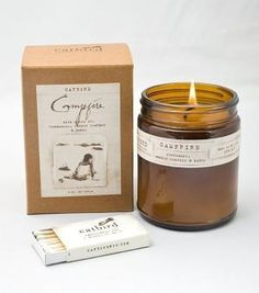 campfire candle from @catbird