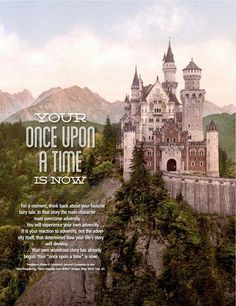 Leah: The speaker in my Sacrament meeting talked about this so I thought I'd find it and repin it. Your Once Upon a Time Is Now. I am living my Happily Ever After. | Creative LDS Quotes