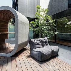 Modul Sofa, Outdoor Furniture, Outdoor Decor, Scandinavian Design, Bean Bag Chair, Lounge, Home Decor, Airport Lounge, Drawing Rooms