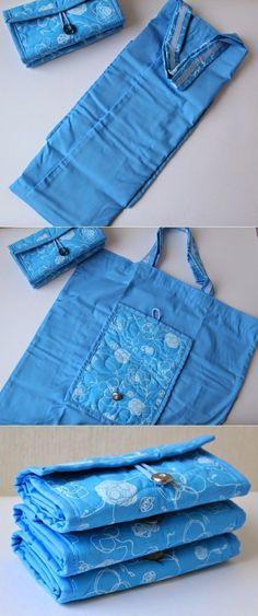A cute bag made from denim!!