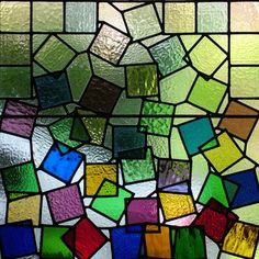 Tumbling Squares ~ by Amanda Winfield ~ Abinger Stained Glass I have attended two of her fused glass workshops so far, Amanda is an inspiring (and patient) teacher. I would definitely recommend! Stained Glass Designs, Stained Glass Panels, Stained Glass Projects, Stained Glass Patterns, Leaded Glass, Stained Glass Art, Mosaic Glass, Fused Glass, Colored Glass