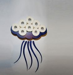 Toilet Roll holder, Toilet Paper Holder,  Unique shelves, Toilet Paper Storage, Bathroom Shelves, Toilet Roll holders, Jellyfish Unique Toilet Paper Holder, Toilet Paper Roll Holder, Toilet Paper Storage, Toilet Shelves, Bathroom Shelves, Bathroom Storage, Origami, Unique Shelves, Pantry Makeover