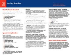 Let's Talk Facts: Anxiety Disorders