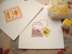 Eraser Stamp, Stamp Carving, Handmade Stamps, Linoprint, Love Stamps, Tampons, Linocut Prints, Stencils, Homemade Cards