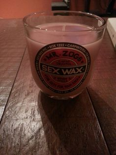 Just made some home made surf wax candles
