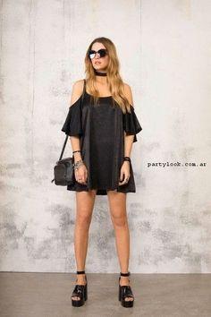 vestido corto de seda 47 street primavera verano 2017   Vestidos verano 2017