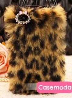 New Chic Brown Leopard Pattern Synthetic Fur iPhone 5 Case C, Accessory, bling crystal rhinestones iphone 5 case, Chic Iphone 4, Iphone Cases, Cool Cases, New Chic, Brown Leopard, Leopard Pattern, Trendy Clothes For Women, Junior Outfits, Phone Covers