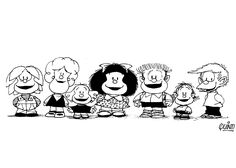 Dibujos para Colorear Mafalda 1