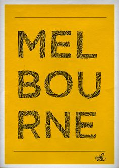 I want to go sooo bad Melbourne Map, Melbourne Victoria, Victoria Australia, Melbourne Australia, Posters Diy, Visit Sydney, Around The World In 80 Days, Cool Countries, Typography Inspiration