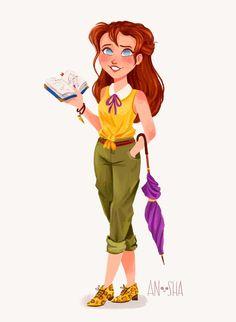 _Anoosha-Syed-modern-disney-Princesses-11