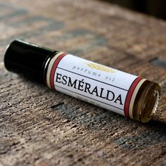 Esméralda Perfume Oil - Long Winter Soap Co.