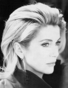 Catherine Deneuve is a modern kind of muse: cool to the point of icy, almost detached in her sense of self-containment. Her particularly French charms - one part exquisite style icon, one part mysterious, unreadable beauty - made her a muse to both Luis Bunuel and Yves St Laurent.