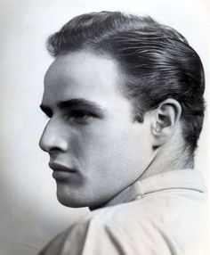 Marlon Brando.....because Bunny briefly knew him when they were young.