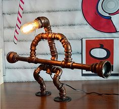 17 Amazingly Creative Handmade Pipe Lamp Designs Youll Want To Have Immediately