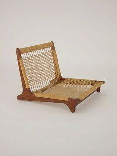 Ratan. modern furniture. modern design. mid century. scandinavian design. Hans Olsen Easy Chair