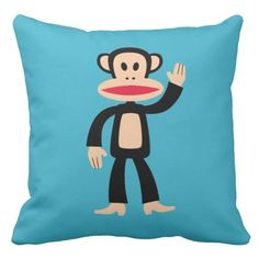 Julius Waving Throw Pillow