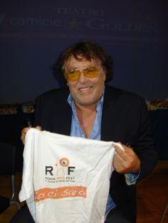 Anche Maurizio Mattioli, divertentissimo e unico, è dei nostri..!!! www.romawebfest.it