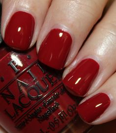 OPI - Lost on Lombard (San Francisco Collection Fall 2013) / VampyVarnish. My favorite for the holidays.