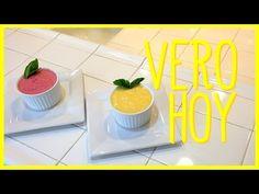 Helado de Yogur (Frozen Yogurt) - Como hacer dos sabores!